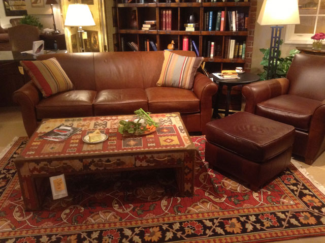 Exceptional Town U0026 Country VT U2013 Leather Sofa