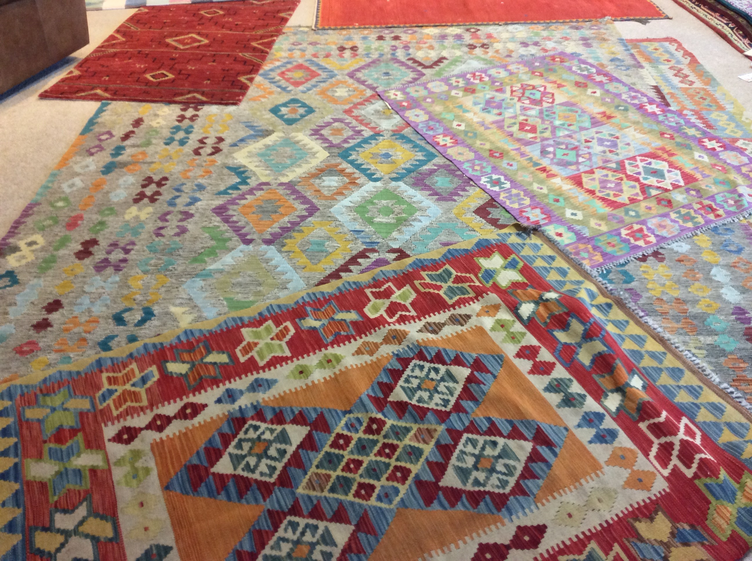 At Town And Country Furniture, We Have Vermontu0027s Largest Collection Of Over  400 Handmade Wool Rugs, Imported From All Over The World. No Two Alike.
